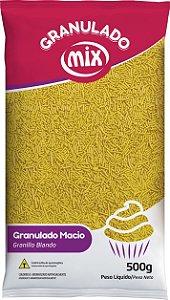 Confeito Granulado Macio 500g Amarelo