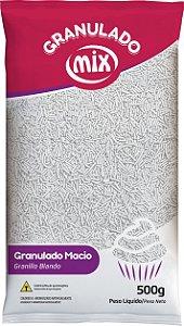 Confeito Granulado Macio 500g Branco