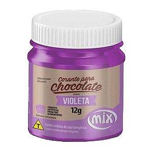 Corante Para Chocolate Mix 12g Violeta