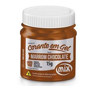 Corante Em Gel Mix 15g Marrom Chocolate