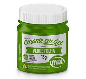 Corante Em Gel Mix 15g Verde Folha