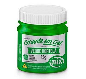 Corante Em Gel Mix 15g Verde Hortela