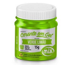 Corante Em Gel Mix 15g Verde Limao