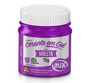 Corante Em Gel Mix 15g Violeta