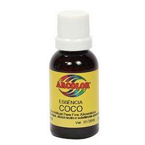 Essencia Arcolor Alcolica 30ml Coco