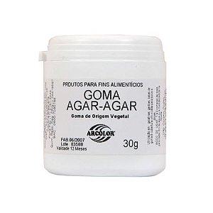 Goma Agar-Agar Arcolor 30g