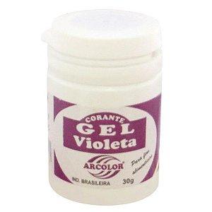 Corante Em Gel Arcolor 30ml Violeta