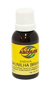 Essencia Arcolor Alcolica 30ml Baunilha Brancaanca