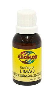 Essencia Arcolor Alcolica 30ml Limao