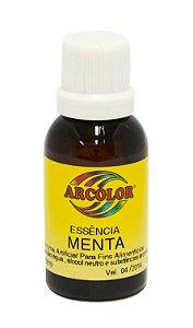 Essencia Arcolor Alcolica 30ml Menta