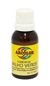 Essencia Arcolor Alcolica 30ml Milho Verde