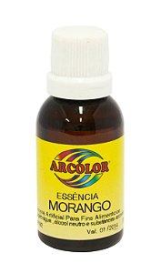Essencia Arcolor Alcolica 30ml Morango