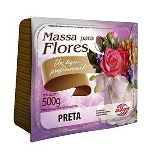 Massa Flores Arcolor 500g Preta