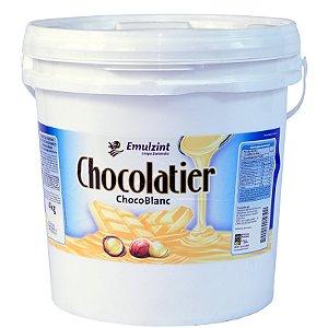 Cobertura Chocolatier Chocoblanc 4kg Emulzint