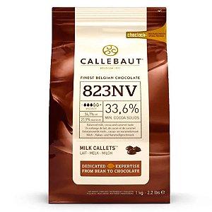 Chocolate Barry Moedas 823 Ao Leite 33,6% 1kg