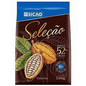 Chocolate Sicao Selecao Gotas De Amargo 52% 2,05