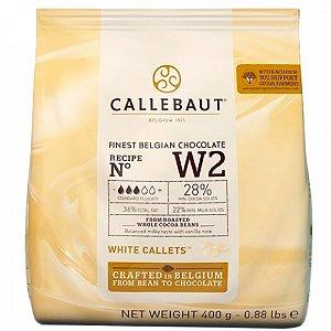 Chocolate Barry Moedas W2 Branco 28% 400g