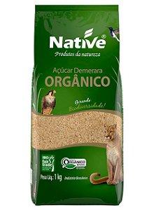 Acucar Demerara Organico Native 1kg