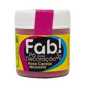 Corante Em Po Para Decoracao Fab 3g Rosa Cereja