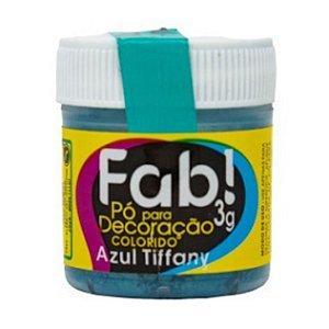Corante Em Po Para Decoracao Fab 3g Azul Tiffany