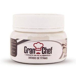 Corante Alimenticio Po Granchef 100g Branco