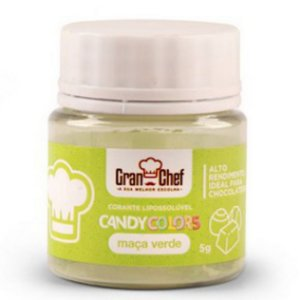 Corante Lipossoluvel Candy Colors 5g Maca Verde