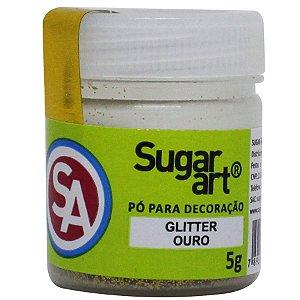 Glitter Para Decoracao Madi 5g Ouro