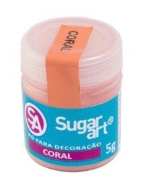 Corante Em Po Para Decoracao Madi 3g Coral