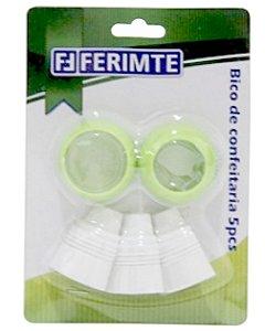 Kit Bico Confeiteiro Com  05p Bc0233 Ferimte