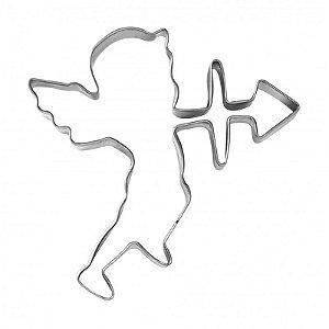 Cortador Para Confeiteiro (Inox) Cupido Com 1un