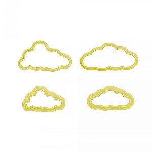 Cortador Plastico Nuvens Com 4un