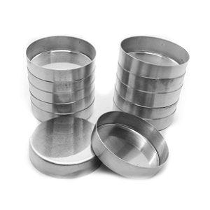 Forminha Quiche Fixa N1 (Alum) 2,5x8,2cm