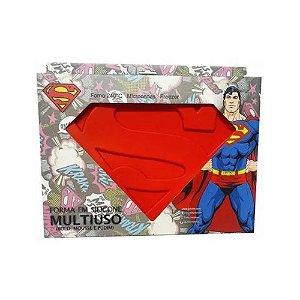 Forma De Bolo Silicone Superman 01un