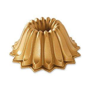 Forma Para Bolo (Alum) 20,6x10 Gold Lotus