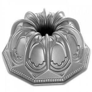 Forma Para Bolo (Alum) 24x11 Silver Vaulte