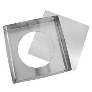 Forma Quadrada Fundo Falso (Alum) 25x7