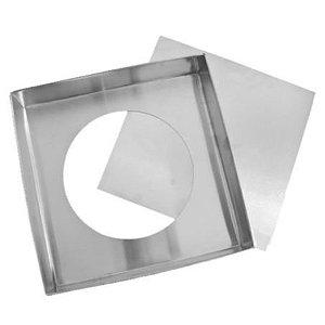 Forma Quadrada Fundo Falso (Alum) 35x7