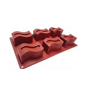 Forma Silicone Onda 29x17,5cm 1un