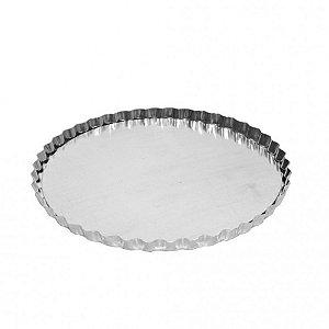 Forma Torta Maca Reta Fixa (Alum) 17x2