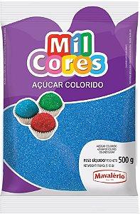 Acucar Colorido 500g Azul Mil Cores