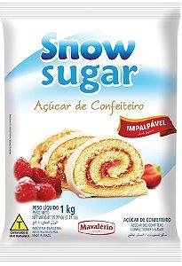 Acucar Confeiteiro 1kg Snow Sugar