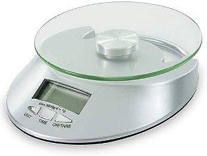 Balanca Digital Vidro Para Cozinha 5kg