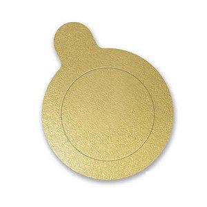 Base Para Doce Redonda 5,5cm Ouro 20un