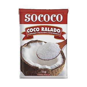Coco Ralado Medio 1kg Sococo