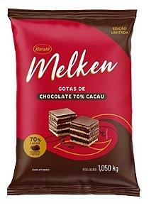 Gotas De Chocolate Melken 70% 1,05kg Harald