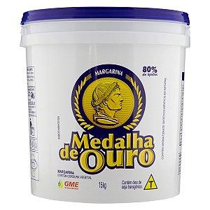 Margarina Uso Geral 80% 15kg Medalha Ouro