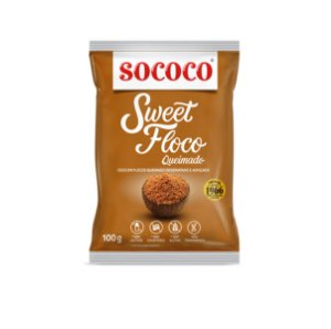 Sweet Floco Queimado 100g