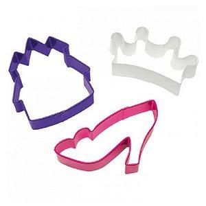 Kit Cortador Princesas 1un