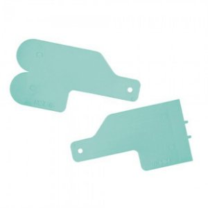 Kit Para Decoracao Mini Espatulas 3 Verde Tiffany