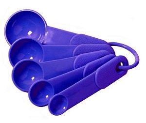 Medidor Colher Plast 5un